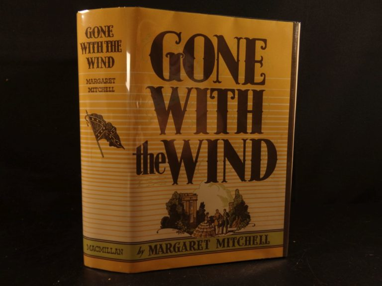 Image of 1936 1ed Gone with the Wind Margaret Mitchell Classic American Novel Literature