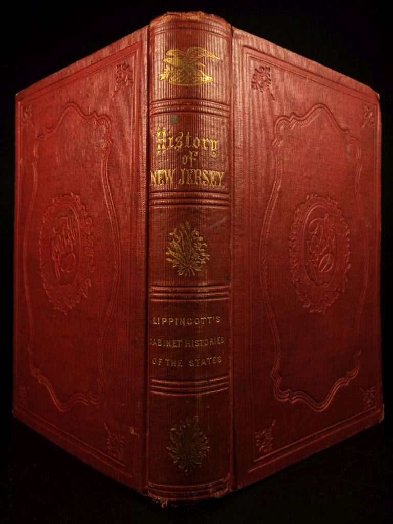 Image of 1854 History of New Jersey American Revolution Colonial Americana Geo Washington