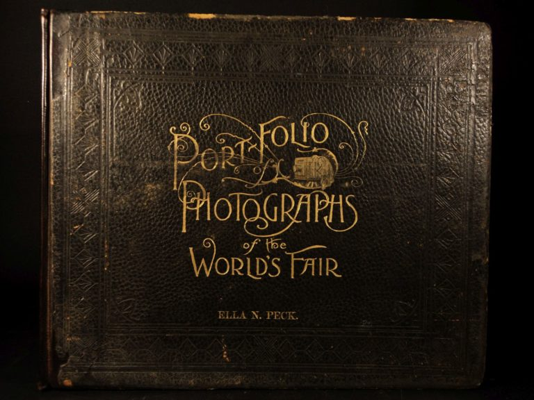 Image of 1893 Portfolio of Photographs from Chicago Columbian Exposition World's Fair