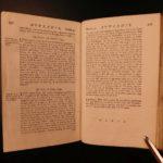 1757 1ed Statute LAW of Scotland Scottish Witchcraft Sorcery Adultery Fishing