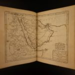 1780 1ed Famous Rigobert Bonne ATLAS MAPS Double-Page EXQUISITE Copper Folding