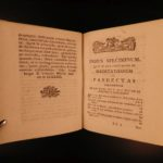 1778 German Leyser ad Pandectas Civil Criminal LAW 8v Latin Poland Saxony Crime
