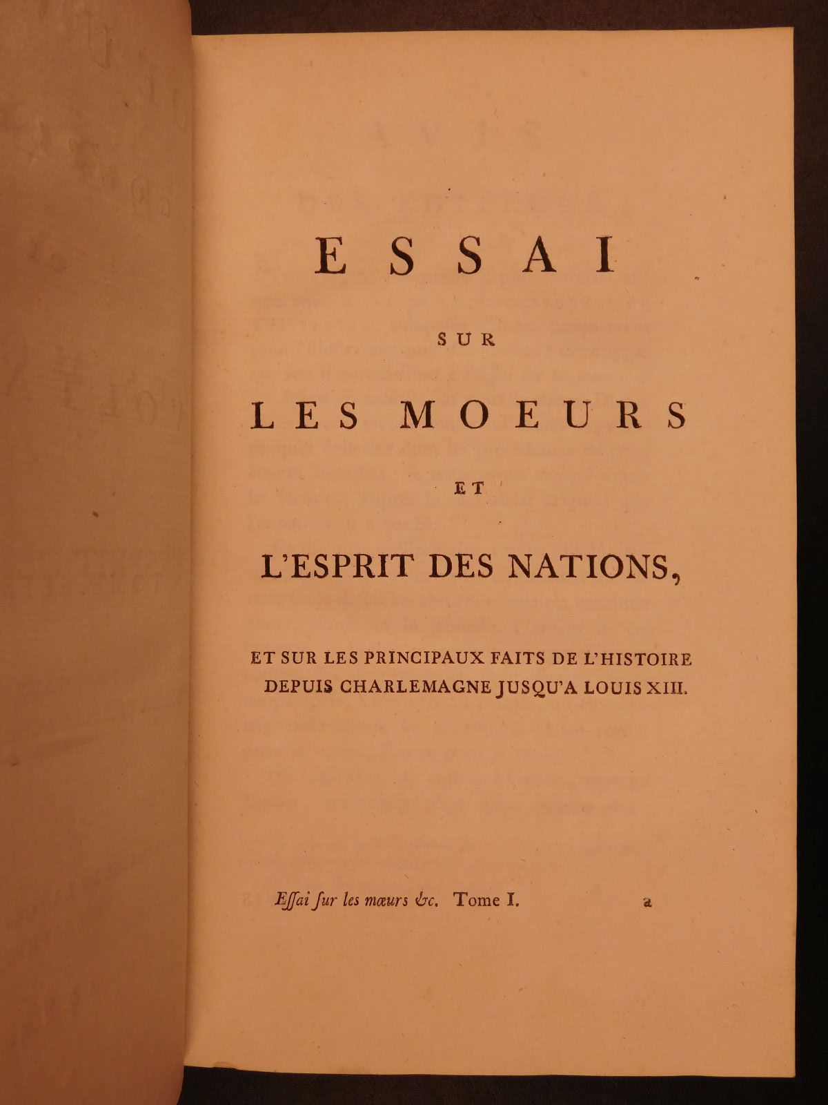 voltaire essay on the manner and spirit of nations An essay on universal history, the manners and spirit of nations from the reign of charlemaign to the age of lewis xiv:and manners that became the essai sur les moeurs, and plunged into biblical exegesis mme du châtelet herself wrote an examen, highly critical of the two testaments it was at cirey that voltaire, rounding out his.