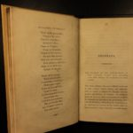 1832 1st ed Nicotiana Smokers Companion Cigars Cigarettes Smoking TOBACCO Poetry