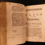 1679 1st ed Works of Francis Bacon Baconiana Philosophy Medicine Moral Theology