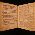 1531 1st ed Petrus Crescentiis Agriculture HERBAL Illustrated Woodcuts Botany