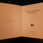 1923 1st ed Beekeeping Apiculture Queen Rearing & Honey Plants Illustrated BEES