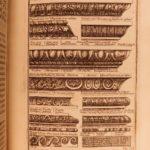 1699 Famed Architecture of D'Aviler Illustrated ART Michelangelo Vignola French