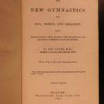 1864 Gymnastics for Men Women Illustrated Sports Fitness Health Hygiene Exercise