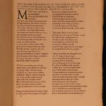 1908 EXQUISITE Vellum 1st ed Chaucer Romaunt of the Rose Illustrated Chivalry