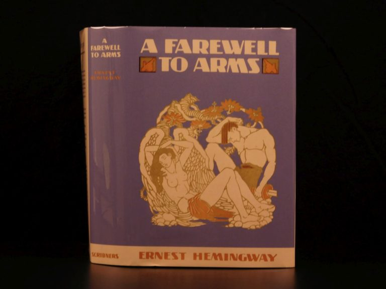Image of 1929 1st/1st Farewell to Arms Hemingway World War I Military Romance CLASSIC