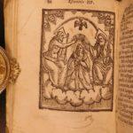 1610 Catholic Devotional & Talisman Spiritual Protection Prayer Italian Woodcuts