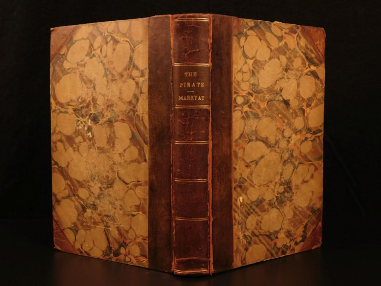 Image of 1836 1st ed The Pirate Three Cutters Captain Marryat Nautical Ships Illustrated