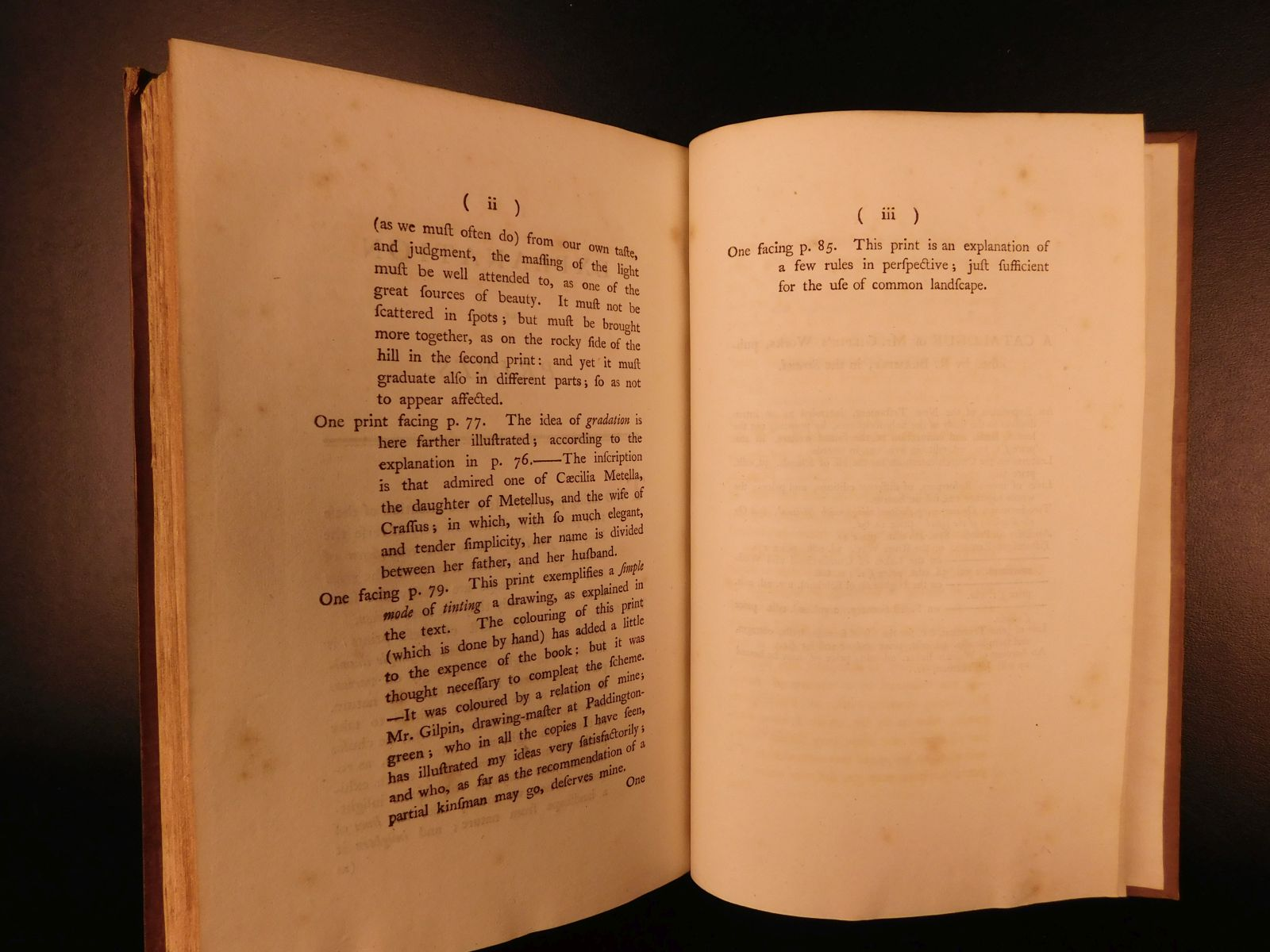 gilpin three essays on the picturesque Gilpin's essay on prints syntax in search of the picturesque which was a satire of the ideal and famously skewered picturesque-hunters william gilpin, three.