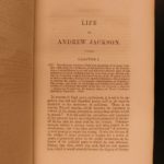 1853 Life of Andrew Jackson War of 1812 Native American Indians Military Tactics