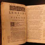 1664 Virgil Aeneid Roman Poetry Classical Literature Mythology Perrin French