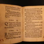 1542 Remaclus Fusch Nomenclature Plantarum HERBAL Medicine Pharmacology Botany