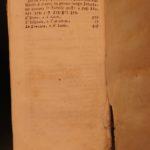 1737 1st ed Greek & Italian Aesop Fables Mythology CLASSIC Folklore Venice Ricci