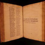 1697 1ed Lycophron Alexandra Greek Poetry Byzantine Commentary Tzetzes Chiliades