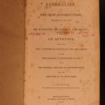 1842 Federalist Papers United States Constitution Hamilton Madison Jay Americana