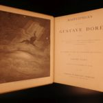 1887 Gustave Doré Masterpieces Illustrated Dante Bible Milton Fontaine Quixote