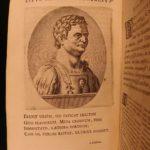 1651 Suetonius Twelve Caesars Julius Caesar Caligula Nero ROME Portraits Hackium