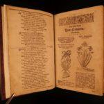 1678 Mattioli HERBAL Botany Medicine Verzascha Pharmacology Woodcut Illustrated