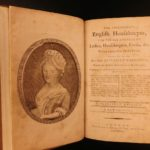 1789 English Housekeeper COOKBOOK Recipes Desserts Cooking Cuisine Home-making