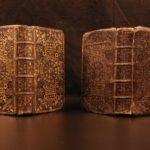 1719 EXQUISITE Fine Binding King James English Holy BIBLE James Watson SCOTLAND