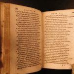 1547 Works of OVID Fasti Roman Mythology gods Tristia Ponto Latin Poetry