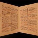 1777 Catholic Missa Defunctorum Requiem MASS Liturgy Senis Sardinia Music Chant