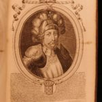1722 EXQUISITE 65 Portraits Illustrated French Kings Louis XIV Nicolas Larmessin