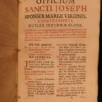 1691 SPAIN Madrid Spanish Catholic Breviary Missal Martyrs Prayers Latin 2in1