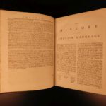1799 Samuel Johnson FAMOUS Dictionary of English Language Americana Lexicon 2v