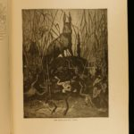 1890 Fables of Fontaine Illustrated by Gustave Dore ART Tales English Hurst ed