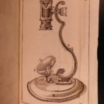 1753 1st ed Baker Microscope Made Easy Biology Chemistry Experiments Optics