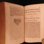 1720 Leibniz Essays on THEODICY Philosophy Humanism Free Will Good v Evil French