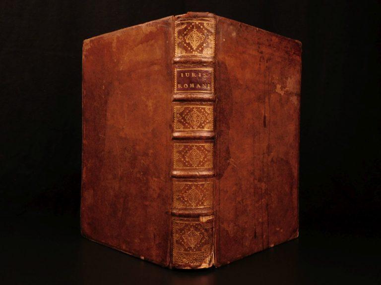 Image of c1700 LAW Handwritten Manuscript Justinian Corpus Juris Civilis Jurisprudence