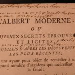 1769 Albertus Magnus Health Secrets WINE Cooking Farming Medicine Agronomy