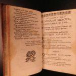 1664 Mercier SIGNED Officiis Scholasticorum & ERASMUS Cvilitate Morum Pedagogy