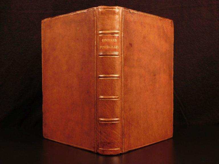 Image of 1581 Guichard Native American Funerals & Burial RITES Greek Roman Illustrated