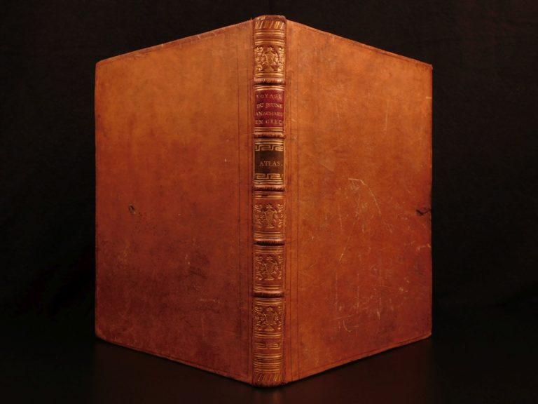 Image of 1789 EXQUISITE Greek ATLAS Maps Travels of Anacharsis Greece Philosophy Persia