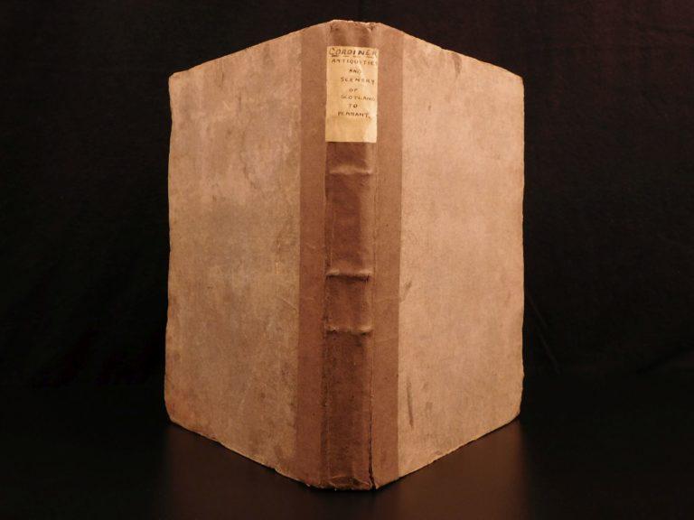 Image of 1780 SCOTLAND Antiquities & Scenery Cordiner Cardonnel Illustrated CASTLES