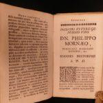 1708 Johann Buxtorf HEBREW & Latin Bible Lexicon Dictionary Judaica Rabbinica