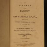 1800 Symes Kingdom of Ava BURMA Burmese Diplomacy India Rangoon Customs Irawaddy