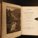 1828 Switzerland SWISS ALPS Costumes Dress Rochette SUISSE Illustrated 5v