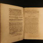 1665 1st ed Italian History of Tivoli Italy Cathedral Politics Catholic Marzi