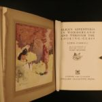 1930 Alice in Wonderland Through the Looking Glass Carroll Rountree Illustrated