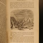 1855 1st ed EXQUISITE San Francisco California Gold Rush Illustrated MAPS Soule