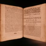 1693 Charas Pharmacopee Royale Medicine Antidotes Viper Poisons Plague Chemistry